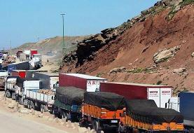 عبور هفتگی ۵۰۰ کامیون از مرز ایران به عراق