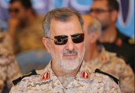 پیام تسلیت فرمانده نیروی زمینی سپاه به مناسبت شهادت سردار کفاش