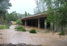 سیلاب در خلخال خساراتی برجای گذاشت