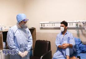عیادت خاص از یک بیمار خاص/عکس