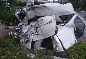 ببینید | تصادف مرگبار تندر ۹۰ در اتوبان بابایی تهران