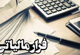 کشف فرار مالیاتی ۴۰ میلیارد ریالی در تهران