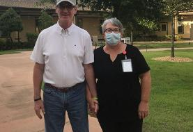 Coronavirus kept them apart for 114 days. So she took a dishwashing job to see her husband