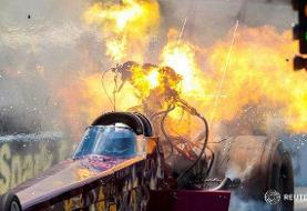 عکس روز/ آتشسوار