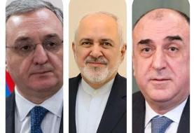 گفتگوی تلفنی ظریف با وزرای خارجه ارمنستان و جمهوری آذربایجان