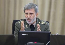 امیرحاتمی: تقویت دیپلماسی دفاعی در دستور کار وزارت دفاع است