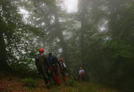 ادامه عملیات جستجوی بانوی گمشده در ارتفاعات کردکوی