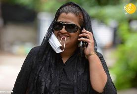 (تصاویر) دهن کجی هندیها به ماسک زدن!