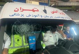 ببینید   بلایی که مسعود شجاعی بر سر آمبولانس استادیوم آزادی آورد!