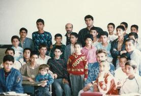 عابدزاده و زرینچه در مدرسه/عکس