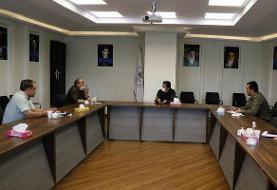 نشست سوریان با کادرهای فنی کشتی آزاد امید و جوانان