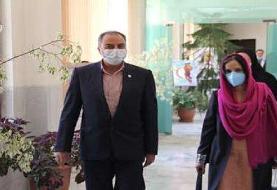 دیدار نماینده یونیسف در ایران و رئیس سازمان جوانان هلال احمر