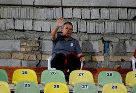 اسکوچیچ و هاشمیان تماشاگر بازی استقلال
