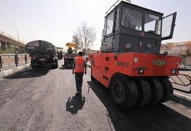 مرمت بیش از ۲۰ هزار نقطه خرابی در سطح معابر پایتخت