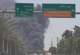 کارخانه شناورسازی در بوشهر آتش گرفت