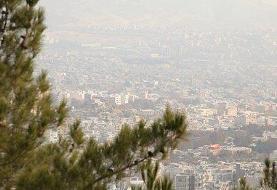 آلودگی اُزُن دست از سر هوای پایتخت برنمیدارد