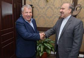 دیدار وزیر ورزش با علی پروین