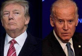 بر اساس نظرسنجیها، رقابت بایدن و ترامپ دیگر تنگاتنگ نیست
