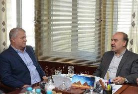دیدار وزیر ورزش با علی پروین بعداز حمله هفته قبل سلطان