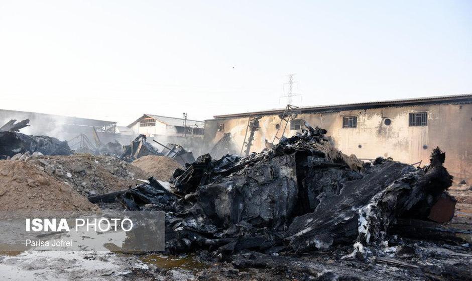 ادامه آتش سوزهای زنجیره ای یا عمدی در کشور: مهار آتشسوزی کارخانه لنجسازی بوشهر
