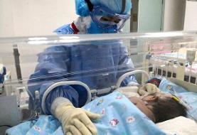 نوزاد ۲۳ روزه قربانی کرونا شد