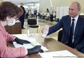 نتایج اولیه همه پرسی روسیه؛ حمایت اکثریت از ریاست جمهوری پوتین تا ۲۰۳۶