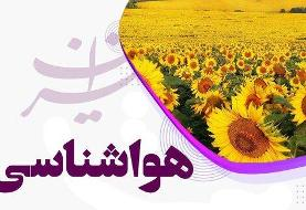 باد شدید در ۹ استان میوزد