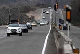 آخرین وضعیت راهها/ از کاهش ۱۵.۶ درصدی ترددها تا بارندگی در چالوس