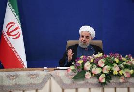 روحانی: آب دریا را به مرکز ایران منتقل میکنیم | نیازمندی کشور به خارج ...