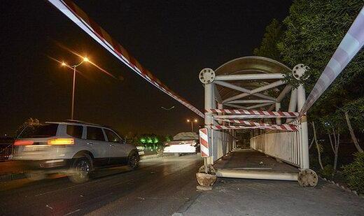 دستگیری سارقانی که حتی به پلهای عابر پیاده هم رحم نکردند!