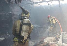 جان باختن آتشنشان هنگام خاموش کردن آتش
