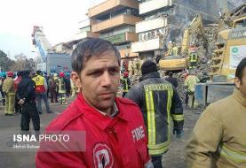 حریق یک مغازه در شوش/ مصدومیت شدید یک آتش نشان