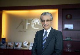متن پیام تبریک رییس AFC برای قهرمانی پرسپولیس