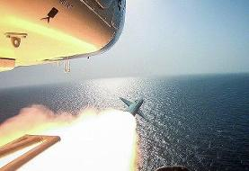 فرود ۳ موشک ایرانی در آبهای نزدیکی پایگاههای آمریکا | پایگاههای آمریکا به حالت آمادهباش در آمدند