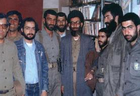 تصویر کمتر دیده شده از حاج احمد متوسلیان در کنار رهبر انقلاب