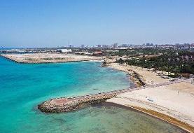 تصاویر اعتراض مردم سوزا به فروش ساحل | واکنش یک مدیر منطقه آزاد قشم