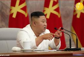 (تصاویر) کیم جونگ اون در نشست حزب حاکم