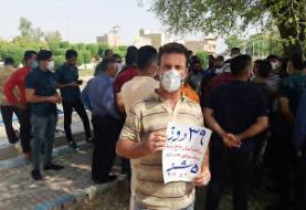 نمایندگان مجلس برای مطالبات کارگران هفته تپه وارد خوزستان شدند