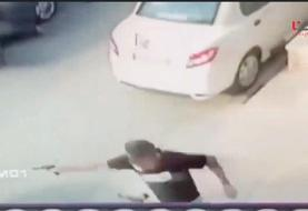 ویدئو | تیراندازی خونین در سعادت آباد به خاطر یک دختر!