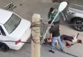 ببینید | ویدئوی کامل تیراندازی در سعادتآباد بر سر یک دختر!