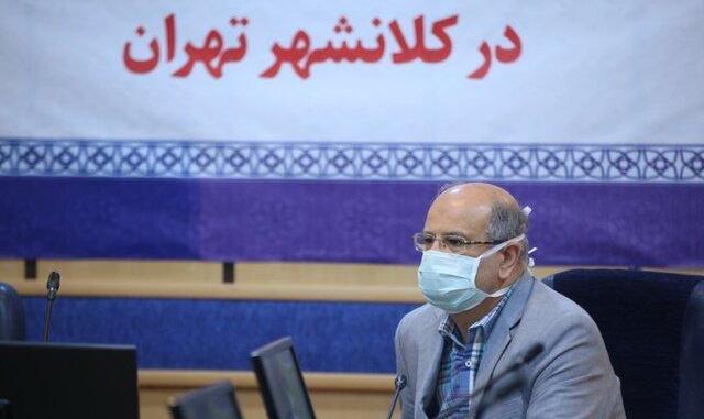 زالی: وضعیت شیوع کرونا در شرق و جنوب شرق تهران نگران کننده است