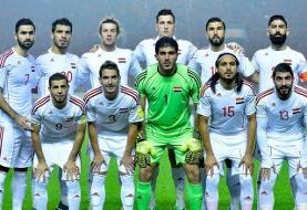 دیدار دوستانه تیم ملی فوتبال ایران و سوریه در تهران