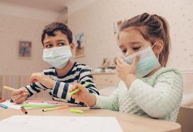 ماسک مشکی نزنید| کودکان از چه سنی ماسک بزنند؟