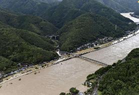 (تصاویر) سیل ویرانگر در ژاپن