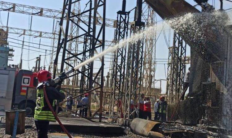 ادامه  آتش سوزهای زنجیره ای یا عمدی در کشور: انفجار و آتشسوزی نیروگاه زرگان اهواز