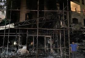 آتش نشانی: شهر تهران از نظر شرایط ایمنی حال خوبی ندارد! کلینیک سینا فقط یک راه پله داشت