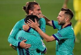 پیروزی قاطع بارسلونا با درخشش MSG