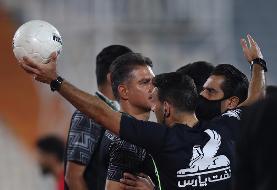 مطهری: با وجود ۱۰ نفره شدن فوتبالمان را به شاهین تحمیل کردیم
