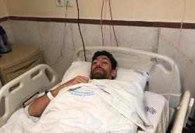 اولین تصویر از مرتضی تبریزی پس از عمل جراحی