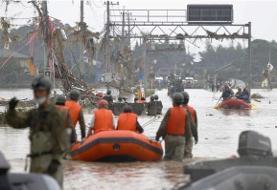 ۵۲ کشته و مفقود در طوفان و سیل اخیرِ ژاپن